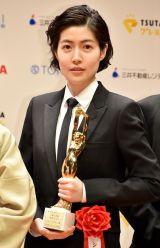『第74回毎日映画コンクール』表彰式に出席したシム・ウンギョン (C)ORICON NewS inc.