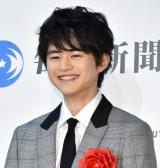 『第74回毎日映画コンクール』表彰式に出席した鈴鹿央士 (C)ORICON NewS inc.