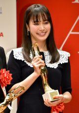 『第74回毎日映画コンクール』表彰式に出席した関水渚 (C)ORICON NewS inc.