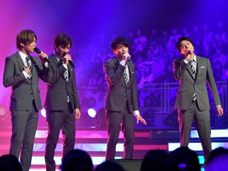 『UTAGE!バレンタイン2日後SP〜紅白愛の歌合戦〜』に出演する舞祭組(C)TBS