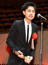 『第74回毎日映画コンクール』表彰式に出席した成田凌 (C)ORICON NewS inc.