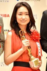 『第74回毎日映画コンクール』表彰式に出席した池脇千鶴 (C)ORICON NewS inc.