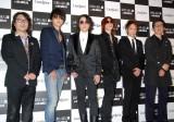 (左から)LUNA SEA・真矢、J、RYUICHI、SUGIZO、INORAN、大坪草次郎さん