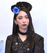 ライブツアー『BAND-MAID WORLD DOMINATION TOUR』の取材に出席したSAKI (C)ORICON NewS inc.