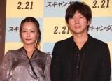 映画『スキャンダル』公開記念イベントに登場した(左から)宇垣美里、古市憲寿 (C)ORICON NewS inc.