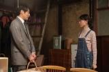 連続テレビ小説『スカーレット』第18週・第104回より。久しぶりに再会をした喜美子と草間(佐藤隆太)(C)NHK