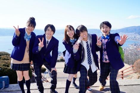 AbemaTV新オリジナルドラマ『僕だけが17歳の世界で』場面写真