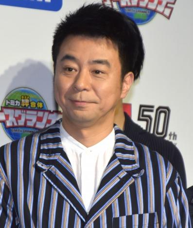 『トミカ50周年記念記者発表会』に出席した有野晋哉 (C)ORICON NewS inc.