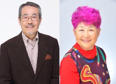 『第十四回 声優アワード』部門賞を受容した(左から)矢田稔、高坂真琴