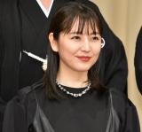 『第62回ブルーリボン賞授賞式』に登壇した長澤まさみ (C)ORICON NewS inc.