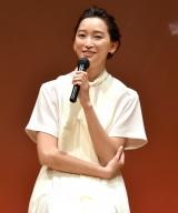 『文化プログラム参加促進シンポジウム』 に出席した杏 (C)ORICON NewS inc.