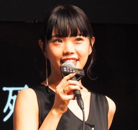 MBS/TBSドラマイズム枠の新ドラマ『死にたい夜にかぎって』の第1話先行試写会に登壇したアイナ・ジ・エンド (C)ORICON NewS inc.