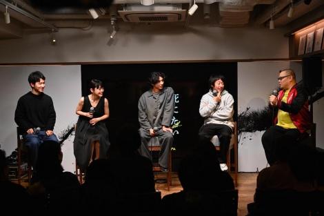 MBS/TBSドラマイズム枠の新ドラマ『死にたい夜にかぎって』の第1話先行試写会の模様