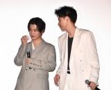 映画『スマホを落としただけなのに 囚われの殺人鬼』の初日舞台あいさつの様子 (C)ORICON NewS inc.