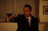 第1話で取り調べるのは、数々の事件を解決してきたエリート捜査官・宮出耕史(筧利夫) (C)「サイレント・ヴォイス」製作委員会2020