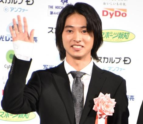 『第44回 報知映画賞』授賞式に出席した山崎賢人 (C)ORICON NewS inc.