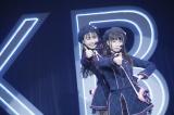 『新体感ライブ祭り♪』IxRライブより(左から)大盛真歩、久保怜音(C)AKS