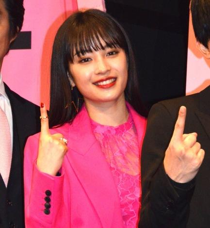 映画『一度死んでみた』(3月20日公開)完成披露ミサに登壇した広瀬すず (C)ORICON NewS inc.