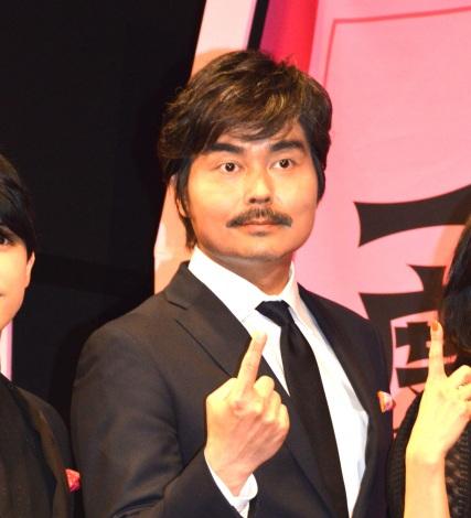 映画『一度死んでみた』(3月20日公開)完成披露ミサに登壇した小澤征悦 (C)ORICON NewS inc.