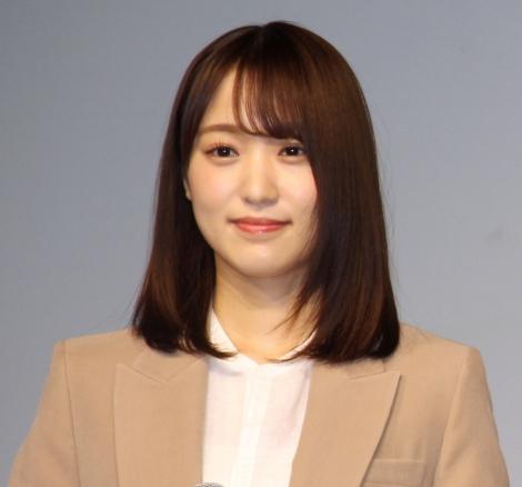 『イオンカード 新生活キャンペーン発表』イベントに登場した菅井友香 (C)ORICON NewS inc.