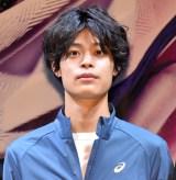 『アシックス新ランニングシューズローンチイベント』に登壇した竹内唯人 (C)ORICON NewS inc.