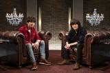 2月29日放送『SONGS』で対談の模様が放送される木村拓哉(左)、稲葉浩志(右)(C)NHK