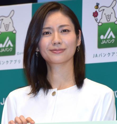 『JAバンクアプリ』のPRイベントに出席した松下奈緒 (C)ORICON NewS inc.