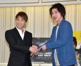 藤原竜也、井上尚弥と握手で興奮