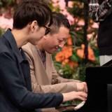 Eテレ『沼にハマってきいてみた』3月4日の放送は、弾いてみた沼ピアノ。サバンナ高橋は「パプリカ」に挑戦(C)NHK
