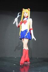 『美少女戦士セーラームーン』プレス発表会に出席したメドベージェワ