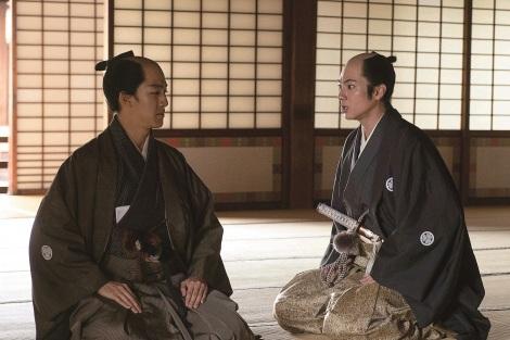 5月22日公開の映画『燃えよ剣』に出演する尾上右近、山田裕貴(C)2020「燃えよ剣」製作委員会