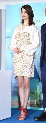 高級シャンパン『ROYAL RIVIERA』の日本上陸発表会に応援ゲストとして参加したマギー (C)ORICON NewS inc.