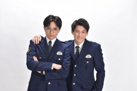 4月期新土曜ドラマ『未満警察 ミッドナイトランナー』でW主演する(左から)中島健人、平野紫耀(C)日本テレビ