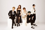 AAA(写真左から、與真司郎、宇野実彩子、西島隆弘、末吉秀太、日高光啓)