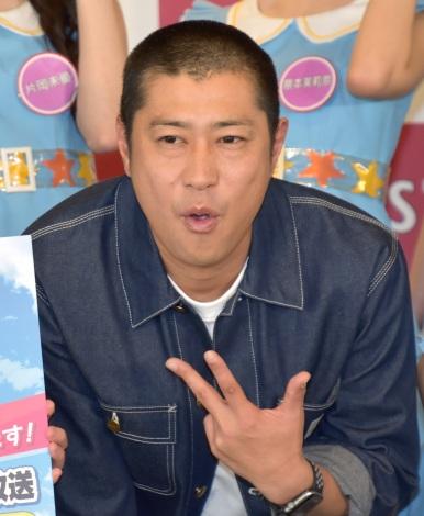 BS11新番組『虹のコンキスタドールが本気を出しました!?』の会見に出席した虹のパンサー・尾形貴弘  (C)ORICON NewS inc.