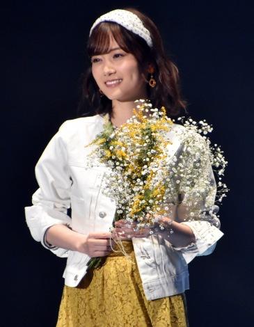『第30回 マイナビ 東京ガールズコレクション 2020 SPRING/SUMMER』に登場した山下美月 (C)ORICON NewS inc.