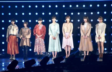 『第30回 マイナビ 東京ガールズコレクション 2020 SPRING/SUMMER』に登場した欅坂46 (C)ORICON NewS inc.