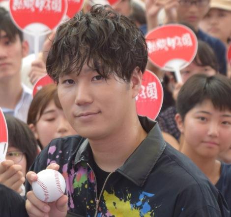 『Coca-Cola SUMMER SPECIAL「熱闘甲子園×Official髭男dismスペシャルライブ」』に出演した松浦匡希 (C)ORICON NewS inc.