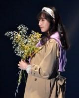 『第30回 マイナビ 東京ガールズコレクション 2020 SPRING/SUMMER』に登場した渡辺梨加 (C)ORICON NewS inc.