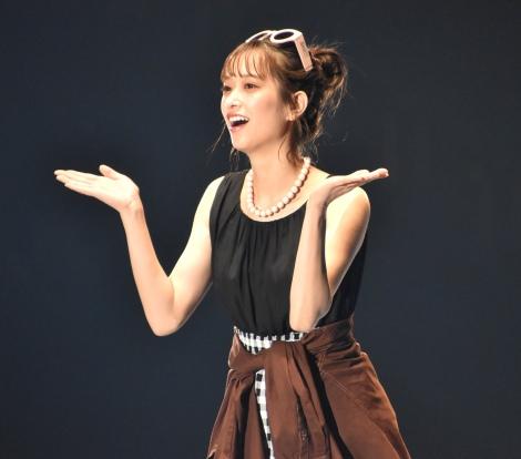『第30回 マイナビ 東京ガールズコレクション 2020 SPRING/SUMMER』に登場した日向坂46・佐々木久美 (C)ORICON NewS inc.
