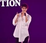 『第30回 マイナビ 東京ガールズコレクション 2020 SPRING/SUMMER』に登場した片寄涼太 (C)ORICON NewS inc.