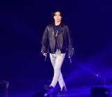『第30回 マイナビ 東京ガールズコレクション 2020 SPRING/SUMMER』に登場した堀江亨 (C)ORICON NewS inc.