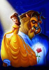 『美女と野獣』メインビジュアル(C)Disney Enterprises, Inc