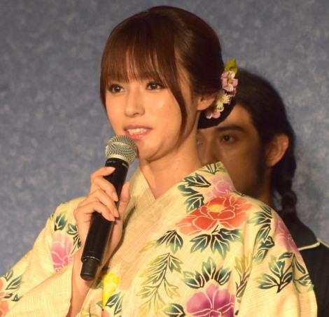 フジテレビ系木曜劇場『ルパンの娘』記者会見に出席した深田恭子 (C)ORICON NewS inc.
