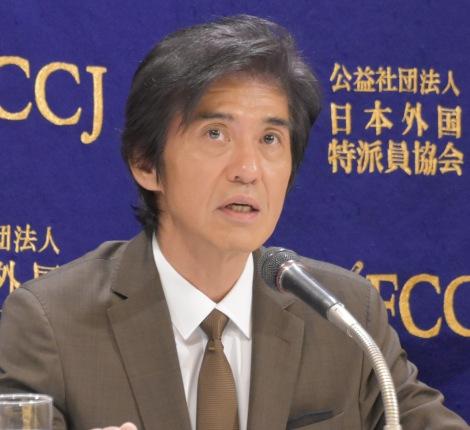 映画『Fukushima 50』の記者会見に出席した佐藤浩市 (C)ORICON NewS inc.
