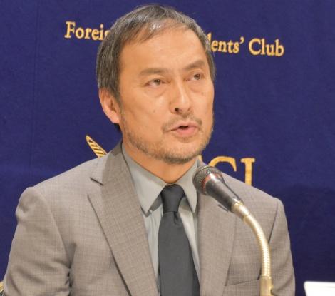映画『Fukushima 50』の記者会見に出席した渡辺謙 (C)ORICON NewS inc.