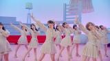 大好きなリボン付きの衣装で初々しく踊るセンターの山内瑞葵(C)AKS/キングレコード
