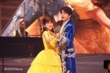 「美女と野獣」=3月14日放送『MUSIC FAIR』(C)フジテレビ