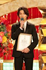 『第43回日本アカデミー賞』新人賞を受賞した横浜流星 (C)日本アカデミー賞協会