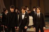『第43回日本アカデミー賞』新人賞を受賞した(左から)鈴鹿央士、森崎ウィン、横浜流星 (C)日本アカデミー賞協会